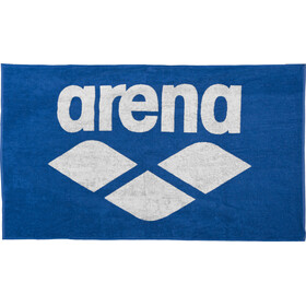 arena Pool Soft Handtuch royal-white
